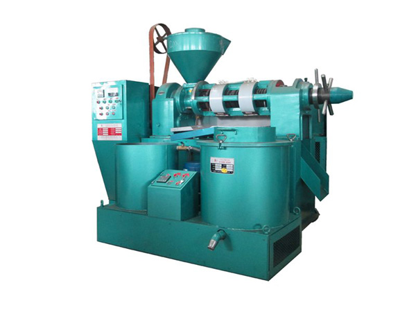 what machines are used in palm kernel oil extraction process