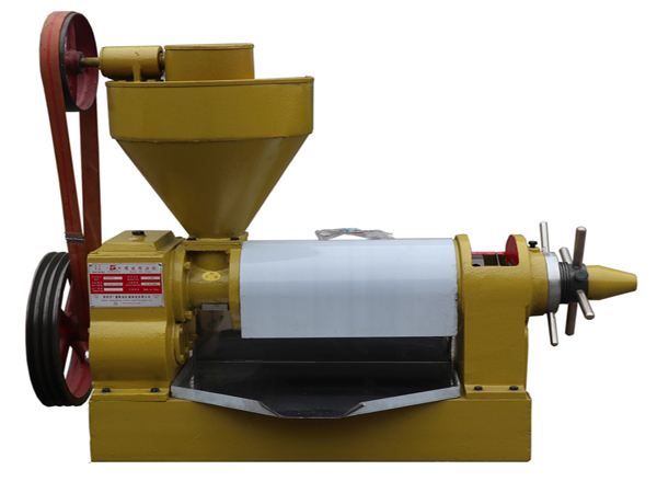 big hydraulic sesame walnut palm fruit cold press oil machine