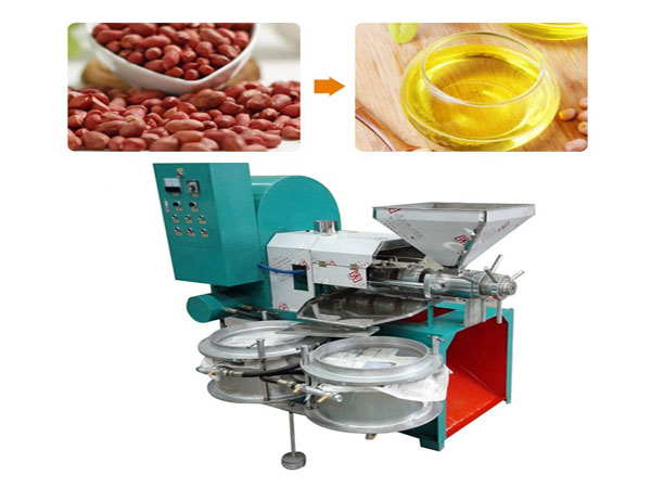flaxseed oil physical press line, high automation degree